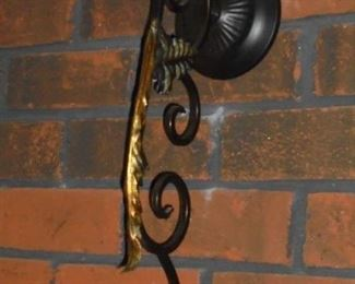 1 of 2 wall sconces