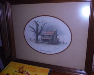 EH Burgess 'Ol' Home Place'  1982   27x18