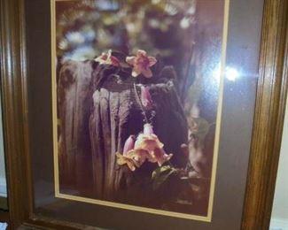 Walt Burch  matted/framed  30x25