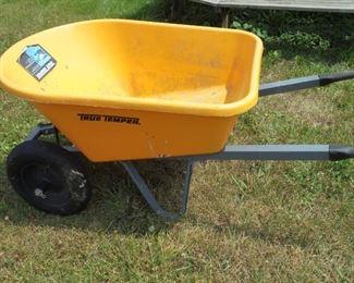 True Temper 2 wheel wheel barrow