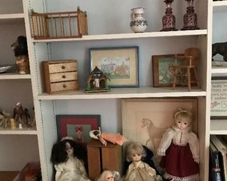Dolls and accessories.