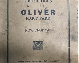 Oliver original manual