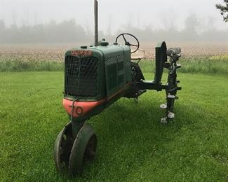 1937 Oliver Tractor Row Cropper with original manual