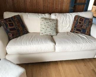 Cotton Quatrine sofa