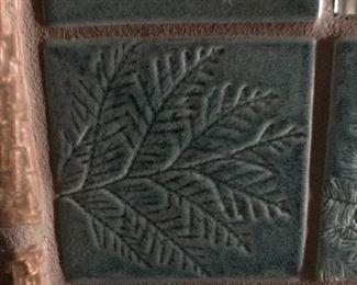 custom ceramic tile mirror