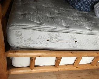 side of log bed