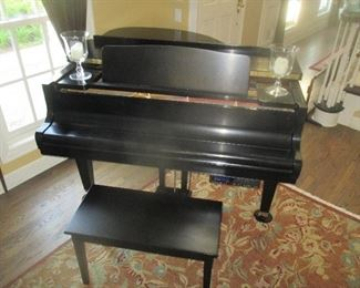 Kawai GM10 Ebony Satin Grand Piano