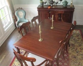 """Ethan Allen Dining Room Furniture """"British Classics Collection"""""""