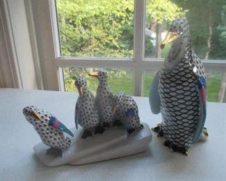 Herend Penguins