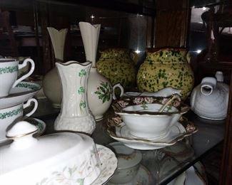 Belleek & Lenox Vases