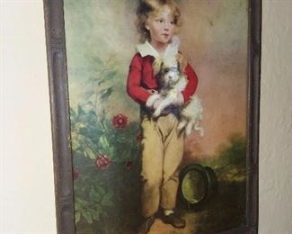 Antique Framed Artwork