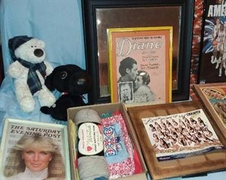 Framed Artwork (AUTOGRAPHED CHEERLEADER PHOTOGRAPH NOT AVAILABLE)