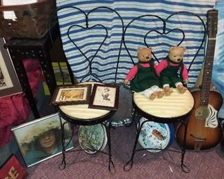 Ice Cream Shop Chairs (GUITAR NOT AVAILABLE)