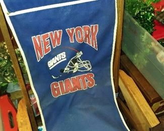 Vintage NY Giants Folding Chair