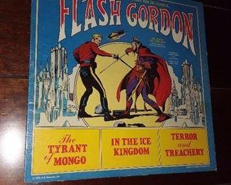 Flash Gordon Record Album