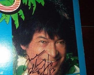 Don Ho Autographed Record Album