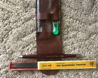 vintage drafting pencil
