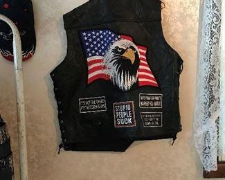 biker vest