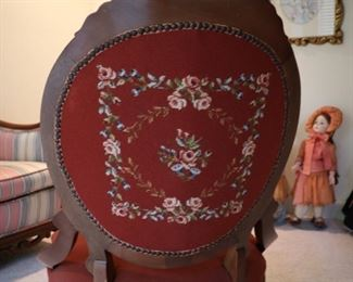 Needlepoint chair $150