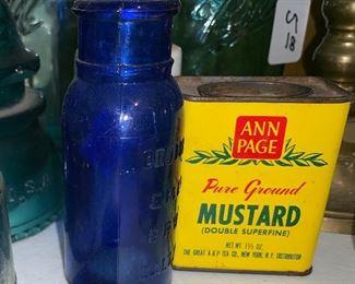 Vintage jars & tins