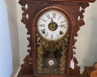 Beautiful detail in this mantel clock