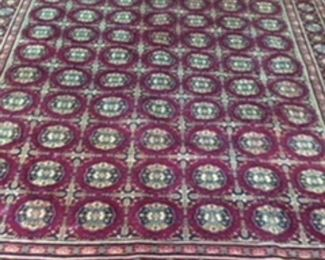 Persian Rug.  Hand made       8x 10.           $575.