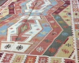 Indian Rug 8x10.   Beautiful colors!!     $700.