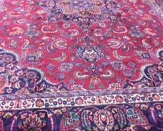 Persian Hand woven rug  8x10.      $1250.