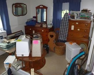 Vintage furniture and sewing machines