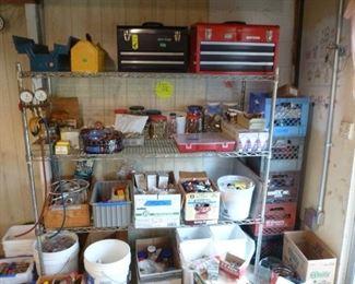 Craftsman Tool Boxes, Plumbing Fittings, Gages