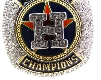 Replica Houston Astros Championship Ring, Size