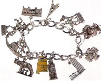 World Traveler Charm Bracelet Set