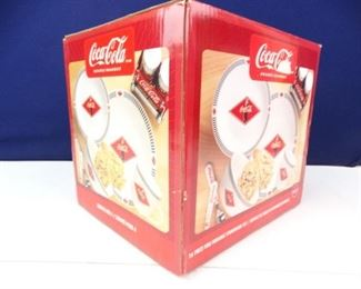 CocaCola 4piece Serving Set