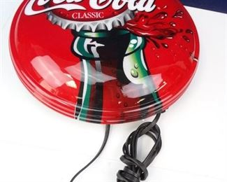CocaCola Bottlecap Wall Light