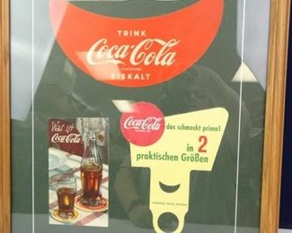 German CocaCola Advertisement