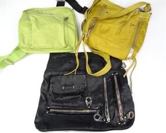 Assorte Trio of Sporty Canvas Hand Bags (3)