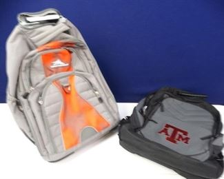 Texas A M Backpack High Sierra Rolling Backpack