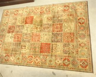 Crimson GoldColored Area Rug