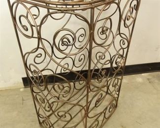 Ornate Metal StandHamper
