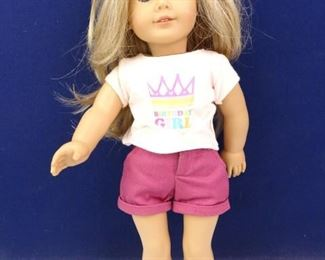 Blonde Hair, Blue Eyed American Girl Doll Birthday Girl