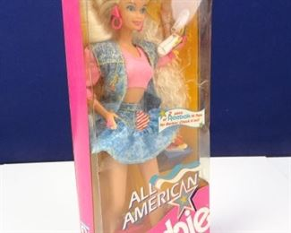 Vintage All American Barbie Doll by Mattel