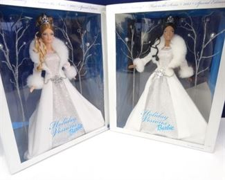Winter Fantasy Holiday Visions Barbie Dolls (2)