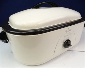 Rival Brand 18 Quart Turkey Sized Roaster Over