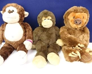 Plush Stuffed Monkey _ Sloth Toy Dolls (3)