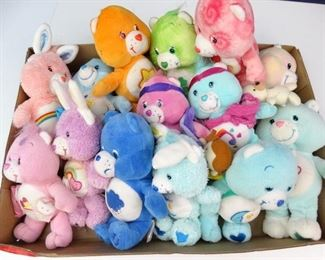 Small to Medium Sized Colorful Care Bear Dolls (14)