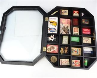 Advertising Matchbook Display Set