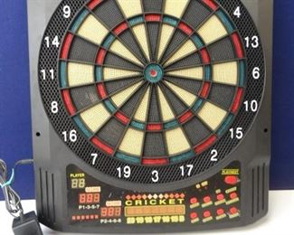 Electronic MultiGame Dart Board by Fat Cat