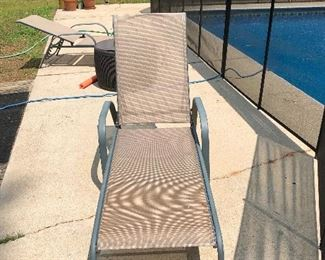 set of lounge chairs