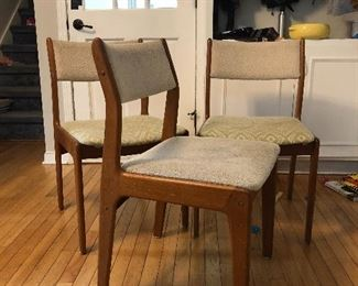 Danish modern chairs