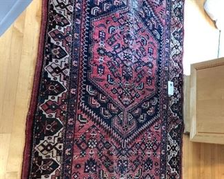 "wonderful antique rug from Iran roughly 4'3"" x 6' 11"" asking $580"